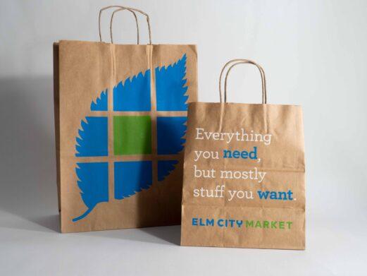 Elm City Market Branding